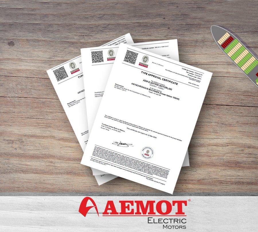AEMOT Denizcilik ve Offshore Kapsamında Bureau Veritas Sertifikasını Almaya Hak Kazandı